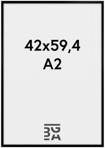 BGA Nordic New Lifestyle Zwart 42x59,4 cm (A2)