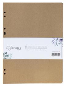 Albumbladen Timesaver SA4 - 30 Bruine vellen