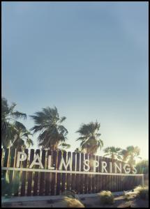 Bildverkstad Palm Springs Poster