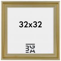 Ramverkstad Mora Premium Zilver 32x32 cm