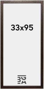 Galleri 1 Fotolijst Brown Wood 33x95 cm