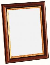 Spegelverkstad Spiegel Siljan Bruin - Eigen afmetingen