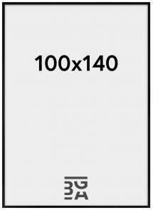 Galleri 1 Blocky Plexiglas Zwart 100x140 cm