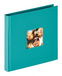 Walther Fun Album Groen - 18x18 cm (30 Zwarte pagina's / 15 bladen)