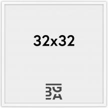 Galleri 1 Edsbyn Wit 32x32 cm