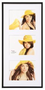 Walther New Lifestyle Collagelijst Zwart - 3 Foto's (15x20 cm)