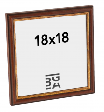 Galleri 1 Fotolijst Horndal Bruin 18x18 cm
