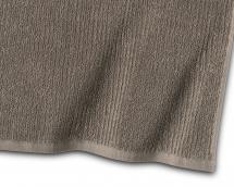 Borganäs of Sweden Handdoek Stripe Badstof - Bruin 50x70 cm