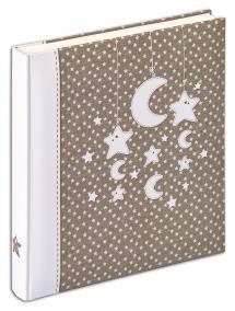 Walther Stars & Moon Album - 28x30,5 cm (50 Witte pagina's / 25 bladen)