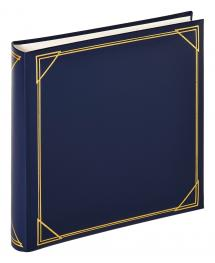 Walther Vierkant Blauw - 30x30 cm (100 Witte pagina's / 50 bladen)