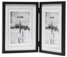 Focus Rock Zwart Vouwlijst 13x18 cm