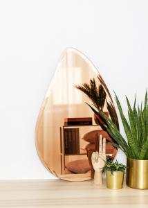 KAILA KAILA Spiegel Drop Rose Gold 45x70 cm