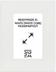 Galleri 1 - Passepartou Passe-partout XL Wit (Witte kern) ) 24x30 cm (12x17)