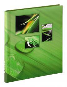 Difox Singo Album Zelfklevend Groen (20 Witte pagina's / 10 bladen)