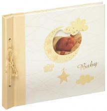 Walther Babyalbum Bambini Maxi Crème - 28x25 cm (60 Witte pagina's / 30 bladen)