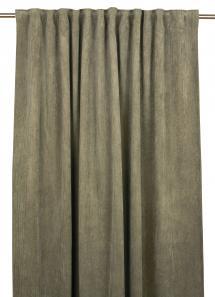 Fondaco Plooiband gordijnen Chester - Khaki groen set van 2