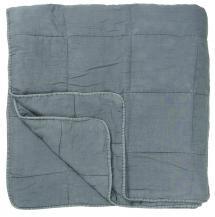 IB Laursen Sprei Vintage Tweepersoonsbed - Lichtblauw 240x240 cm
