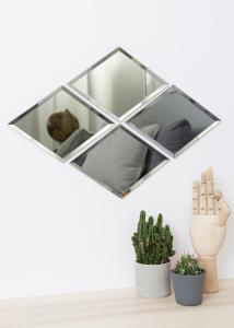 House Doctor Spiegel House Doctor Diamond Grijs 16x22 cm