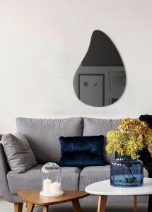 Incado Spiegel Slim Drop Warm Grey 80x55 cm