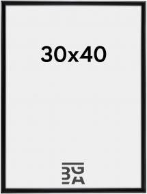 Walther Desire Acrylglas Zwart 30x40 cm