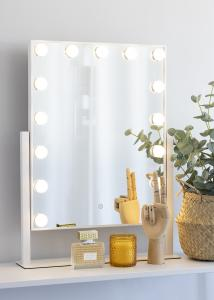 KAILA KAILA Make-up spiegel VI Wit - 46x60 cm
