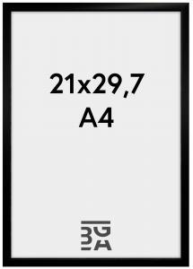 BGA Nordic New Lifestyle Zwart 21x29,7 cm (A4)