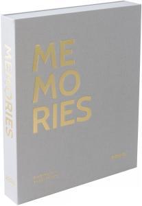 KAILA KAILA MEMORIES Grey - Coffee Table Photo Album (60 Zwarte pagina's)