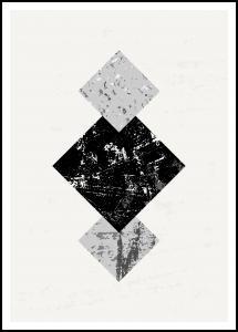 Bildverkstad Abstract Geometry V Poster