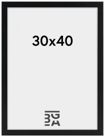 Artlink Amanda Box Zwart 30x40 cm