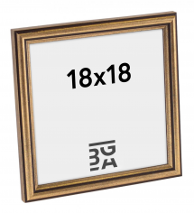 Galleri 1 Fotolijst Horndal Goud 18x18 cm