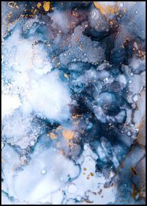 Lagervaror egen produktion Blue is the color Poster