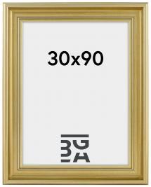 Ramverkstad Fotolijst Mora Premium Zilver 30x90 cm