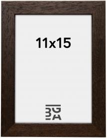Galleri 1 Fotolijst Brown Wood 11x15 cm