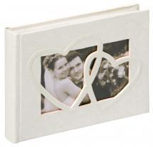 Walther Sweet Heart Fotoalbum - 22x16 cm (40 Witte pagina's / 20 bladen)