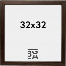Galleri 1 Brown Wood 32x32 cm