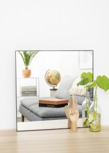 KAILA KAILA Square Mirror - Thin Black 60x60 cm