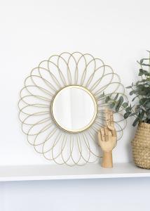 KAILA KAILA Spiegel Flower - Goud 50 cm Ø