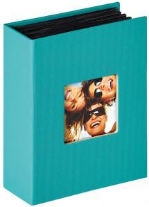 Walther Fun Album Turquoise - 100 Foto's van 10x15 cm