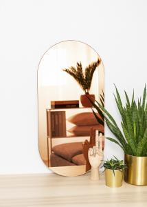 KAILA KAILA Spiegel Oval Rose Gold 35x70 cm