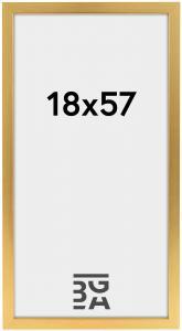 Galleri 1 Fotolijst Gold Wood 18x57 cm