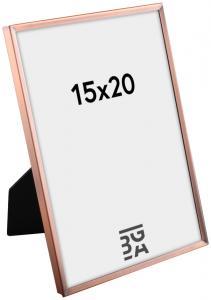 Estancia Glad Metaal Koper 15x20 cm