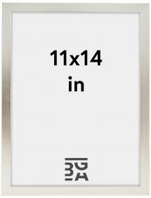 Galleri 1 Fotolijst Silver Wood 11x14 inches (27,94x35,56 cm)