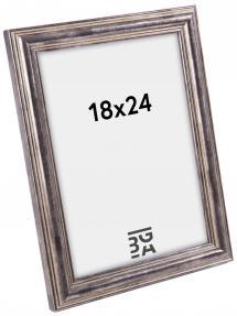 Focus Fotolijst Tango Wood Staal - 18x24 cm