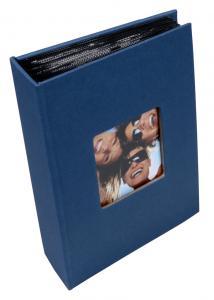Walther Fun Album Blauw - 100 Foto's van 10x15 cm