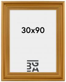 Ramverkstad Fotolijst Mora Premium Goud 30x90 cm