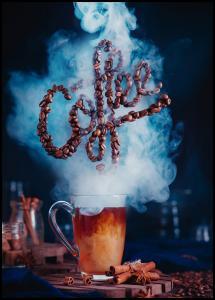 Bildverkstad Smell the coffee Poster