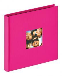 Walther Fun Album Roze - 18x18 cm (30 Zwarte pagina's / 15 bladen)