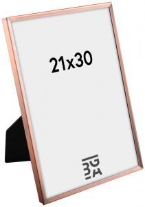 Estancia Glad Metaal Koper 21x30 cm