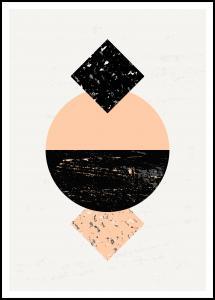 Bildverkstad Abstract Geometry VI Poster