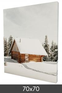 Egen tillverkning - Kundbild Canvas posters 70×70 cm - 18 mm